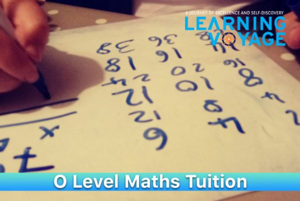 O Level Maths Tuition